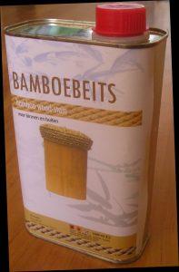 bamboebeits voor bamboe tuinschermen en bamboepalen