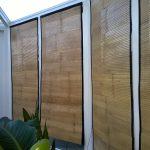bamboe rolgordijn met bies