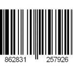 EAN code voor bamboe rolgordijn Africa