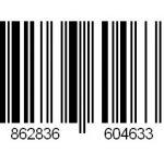 EAN code voor vouw of rolgordijn Batavia