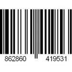 EAN code bamboe rolgordijn met voering