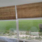 bamboe rolgordijn met voering