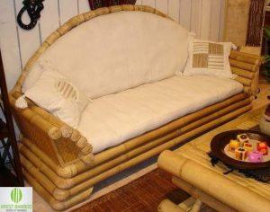 Klassieke Bamboe woonkamer meubelset Louvre
